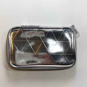 Smashbox | Silver Makeup Bag New Never Used No Tag